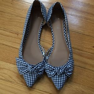 a new day Shoes - NWOT | a new day gingham flat size 10